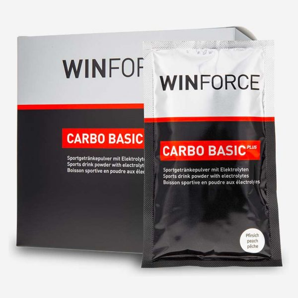 Winforce Carbo Basic Plus Sportdryck Box 10x60g