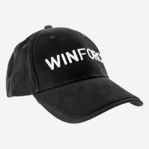 Winforce Keps One size fits all. Svart med Winforce logtype i vitt.