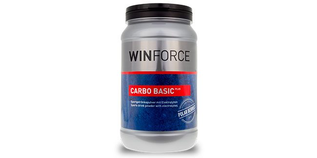 Winforce Carbo Basic Plus Polar Berries sportdryck i 800g burk
